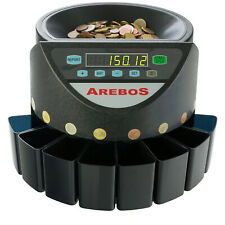 Arebos Contador de Monedas Automàtico