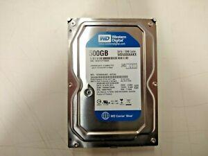Used, Western Digital, WD5000AAKX, 500 Gb Internal,7200 RPM,3.5inch