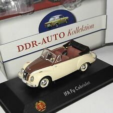 Atlas 1:43 DDR Autokollektion: IFA F9 Cabriolet beige/braun OVP(EK3381)
