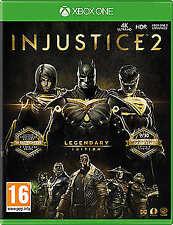 Injustice 2 Legendary Edition - Microsoft Xbox One 2018 UK Post