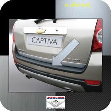 Exklusiv RGM Ladekantenschutz Silber-Look für Chevrolet Captiva SUV 4X4 2006-13