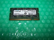 512 Mb crucial 333mhz Pc2700s 200pin Ddr Laptop Memory
