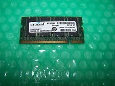 512MB Crucial 333MHz PC2700S 200pin DDR Laptop Memory