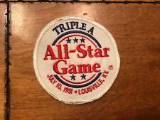 "1991 TRIPLE A ALL-STAR GAME BASEBALL LOGO PATCH LOUISVILLE 4"""
