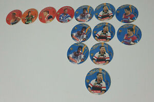 coca cola discs NRL caps from the 90s! Football Jason Smith Adrian Lam Jacin Sin