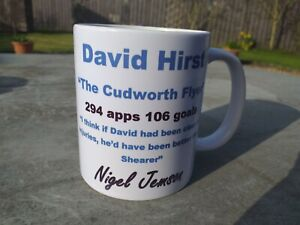 Sheffield Wednesday Hero David Hirst tribute mug new Christmas Birthday Gift