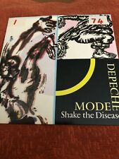 "Shake The Disease- Depeche Mode- 7"" LP Record- Mute 1985"