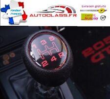 ⭐NEUF POMMEAU de LEVIER DE VITESSES PEUGEOT 205 GTI CTI BE3 1.6 1.9 ROUGE BOULE