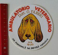 ADESIVI/Sticker: ambulatorio veterinario dott. O. FABBRI ore 18-20 (010217123)