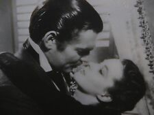 Vintage B&W Movie Photo Clark Gable & Vivien Leigh 1939 Gone With The Wind