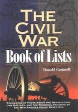 Civil War Book of Lists :Thousands of Facts about Devastation,Battles,Virginia