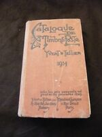 Catalogue Timbres Poste Yvert & Tellier 1914