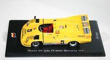 1/43 PORSCHE 908 TURBO WINNER NURBURGRING 1976 JOEST KRAUS SPARK MODELS