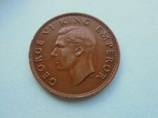 New Zealand, 1940 Penny, Good Condition.