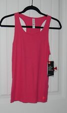 NWT Girls Youth Under Armour HeatGear Coral Racer Back Tank - Sz Small