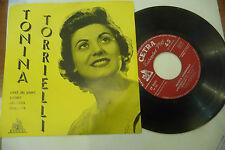 """TONINA TORIELLI""""VIVRO'-disco 45 giri EP(4 brani) CETRA 1956"""""""