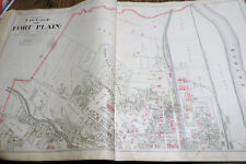 2 1905 Maps North Part Fort Plain Town Minden Ny Montgomery Co Residents Listed