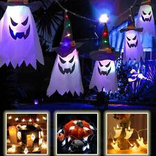 LED Lichterkette Geist Halloween Deko Beleuchtung Party Licht Außen DE 1.5m/3m