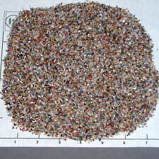 GEMSTONE MIX 1-3mm tumbled, 1/2 lb bulk xxmini stones sand jasper quartz etc.