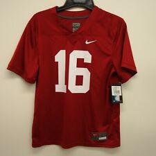 cfbdb24cfde46 Nike Infantil Talla L Rojo Carmesí Alabama Rollo Tide On-Field Camisa Jersey