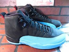 JORDAN 12 Retro Gamma Mens Shoe Size 12 NEW 130690-027 Black Gamma Blue Red