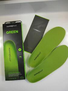 Superfeet Unisex Insoles, Size F - Green