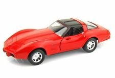 MOTOR MAX 1:24 DISPLAY AMERICAN CLASSICS 1979 CHEVROLET CORVETTE STINGRAY 74244