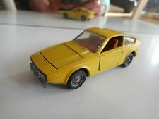 Mebetoys Alfa Romeo Junior Zagato in Yellow on 1:43