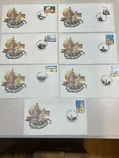 Australia First Day Cover Fdc - 1982 Historic Post Offices (Set) Scott 832-838