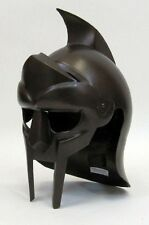 Medieval Wearable Gladiator Arena Dark Armor Helmet LARP SCA Renaissance fnt