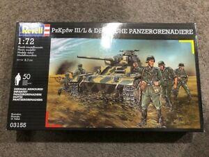Revell 03155 PzKpfw III/L & Deutsche Panzergrenadiere 1:72