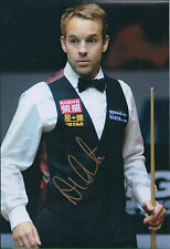 Ali CARTER AUTOGRAPH 12x8 Signed Photo AFTAL COA SNOOKER Shanghai Masters Winner