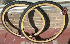 26x2.125 Studded Knobby old school BMX tires fits Schwinn King Sting Sidewinder