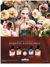 PUBLICITE ADVERTISING  2008   LAVAZZA  dosettes souples café