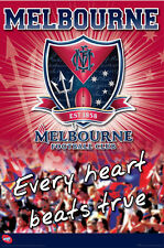 NEW Official AFL Product Wall Poster - Melbourne Football Club - Demons