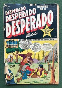 Desperado #8 Lev Gleason Pub Golden Age 1949 True Wild West Crime comics fr/g