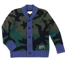 Diesel Boys Camouflage Cardigan Size 12