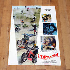 I DEMONI manifesto poster Forest Carr Archibek De Broux Bike The Dirt Gang