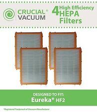 4 Replacements Eureka HF2 HEPA Vacuum Filters 62880 4800 61111 61111A 61111B