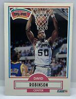 1990 FLEER DAVID ROBINSON #172 ROOKIE CARD RC