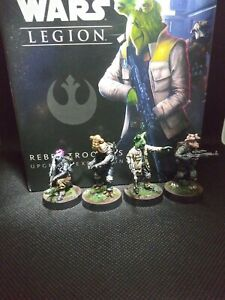 Star Wars Legion Rebel Troopers Upgrade Expansion Painted