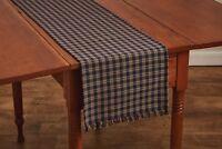 "Table Runner 36"" L - Sturbridge in Navy Blue by Park Designs - Kitchen Dining"