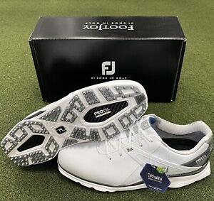 FootJoy Pro SL Carbon Spikeless Golf Shoes 53104 White 11 Medium (D) #83051