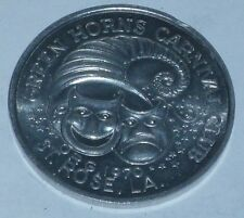 St. Rose Green Horn Melting  Mardi Gras Coin Vintage New Orleans Token Toss