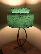 Mid Century Vintage Style 2 Tier Fiberglass Lamp Shade Modern Atomic RetroAlpine
