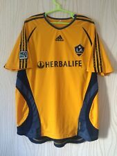 LOS ANGELES GALAXY USA ADIDAS TRAINING FOOTBALL SOCCER SHIRT JERSEY FORMOTION