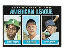 1971 TOPPS ROOKIE STARS #633 BROOKS/KOEGEL/NORTHEY EX+NRMT FREE COMBINED S/H