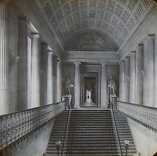Grand Staircase, Palace of Luxembourg, Paris, France, Magic Lantern Glass Slide