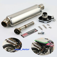 440mm Universal Exhaust Muffler Pipe with DB killer Slip 51mm for Motorcycle ATV