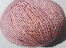 SUBLIME BABY CASHMERE MERINO SILK DK: 01 - PIGLET Knitting Wool Yarn